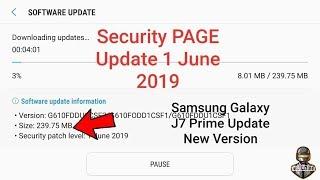 Samsung phone got the new FOTA update | J7 prime update