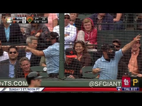Fake Umpires at San Francisco Giants Baseball Game