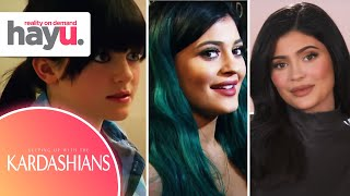The Many Looks Of Kylie Jenner | Seasons 1-18 | Keeping Up With The Kardashians