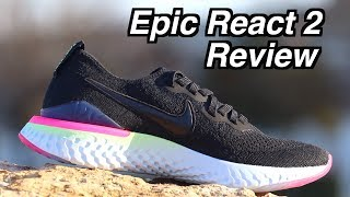 Nike Epic React Flyknit 2 REVIEW & Epic React 1 Comparsion *Running Performance*