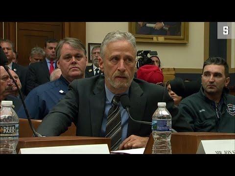 9/11-Ersthelfer: Jon Stewart redet US-Abgeordneten ins Gewissen