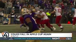 Cougs fall in Apple Cup for 7th straight year
