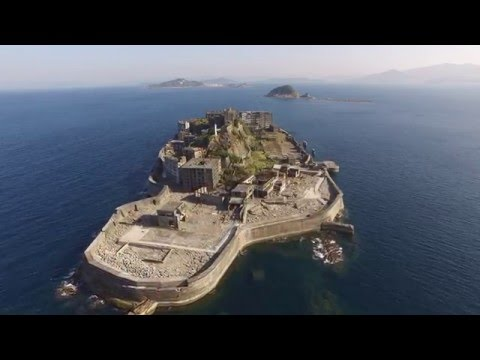 「軍艦島空景 4K」 -Gunkanjima Aerial Shoot 4K-