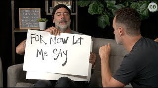 Jeffrey Dean Morgan Says Goodbye to Andrew Lincoln - Love Actually-Style