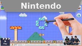 Nintendo Treehouse Live @ E3 2015 Day 1 Super Mario Maker Part 3