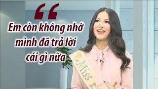"""""""Sự cố"""" trong phần thi ứng xử của Hoa hậu Phương Khánh nhưng không ai nhận ra"""