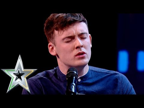 Declan Colgan bowls over judges with incredible voice | Ireland's Got Talent