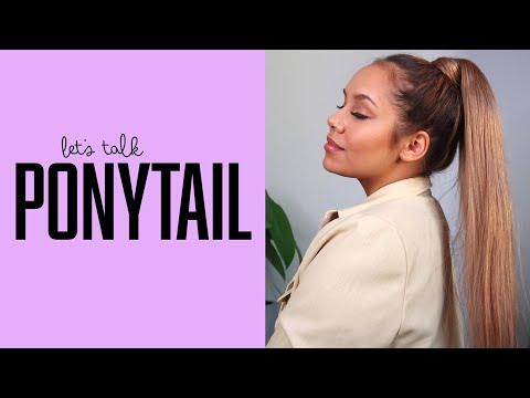 Let's talk hair - Learn more about Clip-in Ponytail