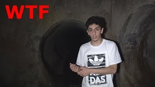 WE MADE IT TO THE END OF THE HAUNTED TUNNEL!! (WTF) | FaZe Rug