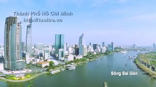 MÙA XUÂN TRÊN THÀNH PHỐ HỒ CHÍ MINH (Remix) . Cảnh đẹp SÀI GÒN.