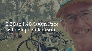 [Podcast] 2:20 to 1:40/100m Pace with Stephen Jackson