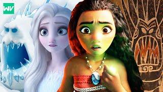 Disney Theory: Moana Knew Elsa Was The Fifth Spirit