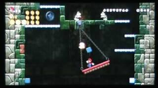 New Super Mario Bros. Wii - World 1 Tower Star Coin