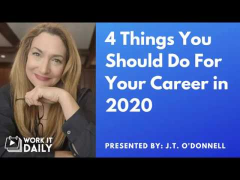 4 Things You Should Do For Your Career in 2020 photo