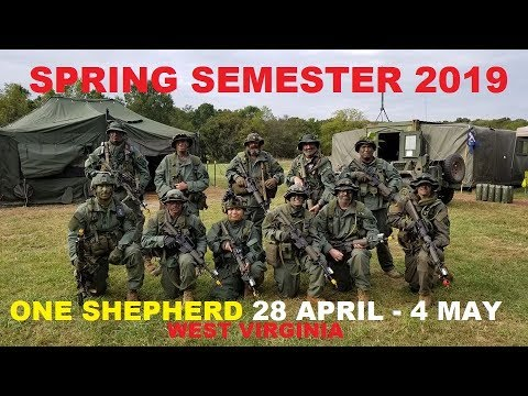 One Shepherd Spring Semester coming up!