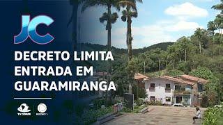 Decreto limita entrada em Guaramiranga no fim de ano