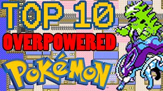 Top 10 Overpowered Generation 2 Pokemon