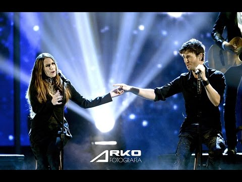Enrique Iglesias & India Martinez (by ARKO.pro) Barcelona. Palau Sant Jordi  @arkosports