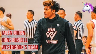 Jalen Green Dominates Debut For Russell WestBrook's Team! Addison Patterson PUNCHES Dunk To Seal T