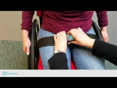 Bodypoint | How to measure for a padded wheelchair hip belt