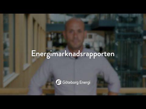 Energimarknadsrapporten, augusti 2020
