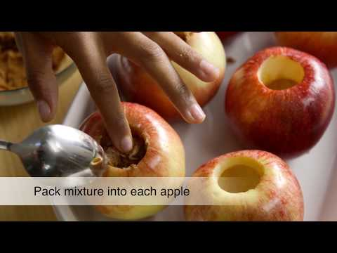 How To: Bake an Apple