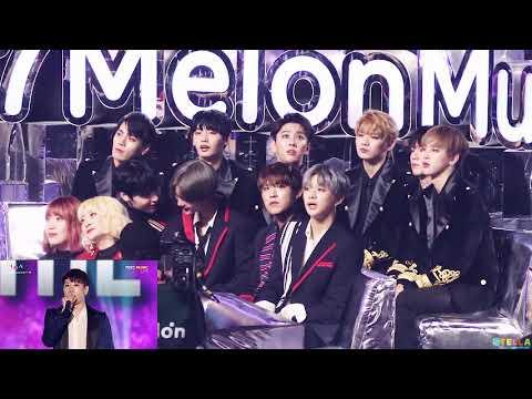 171202 Wanna One(워너원) + JBJ(제이비제이) Reaction(27분) - TOP 10 + 박효신 + KNOCK KNOCK + LIKEY + EXO / MMA
