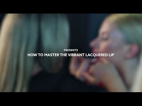The MECCA Memo: How To Master The Vibrant Lacquered Lip