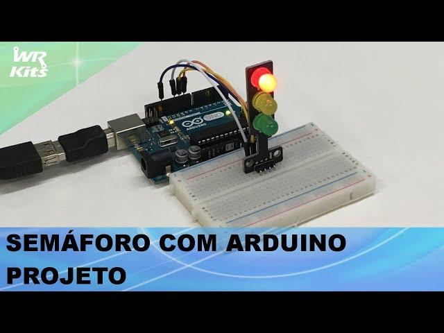 PROJETO DE SEMÁFORO DIFERENTE COM ARDUINO!