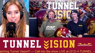 Tunnel Vision - USC Fall Camp starts Friday