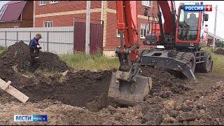 В Омской области отремонтируют водопровод