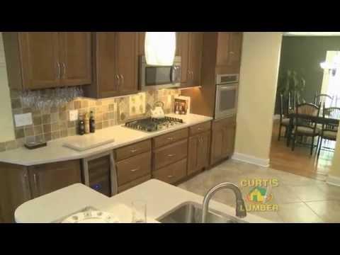 Curtis Lumber Kitchen Designer Nicole Stack Greenfield Center, NY Kitchen