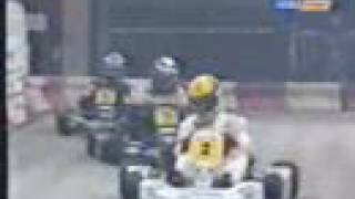 Karting ayrton senna and alain prost duel full race 1993
