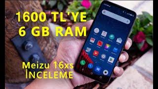 1600 TL'ye 6 GB RAM'li!Telefon Meizu 16Xs