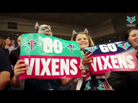 Celebrate your Birthday at a Vixens game in 2018