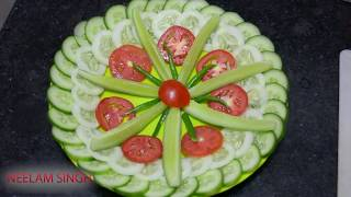 Salad Decoration Ideas 🍅 🍅 8 BY Neelam ki recipe