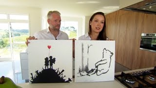 Meet the Kiwi couple who purchased an original Banksy on the streets of New York for just $60 each