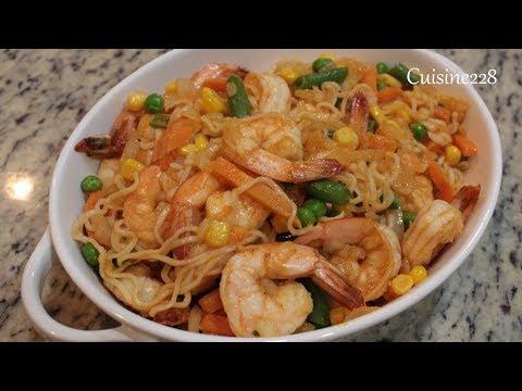 Easy Shrimp Ramen Noodles
