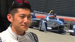 Ho-Pin Tung Tests Formula E New Car!