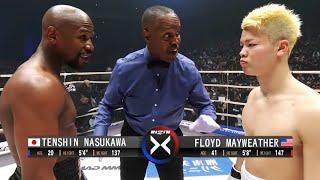 Floyd Mayweather (USA) vs Tenshin Nasukawa (Japan) | KNOCKOUT, BOXING fight, HD