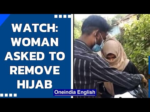 Viral video: Woman forced to take off her burqa and hijab by mob in Madhya Pradesh