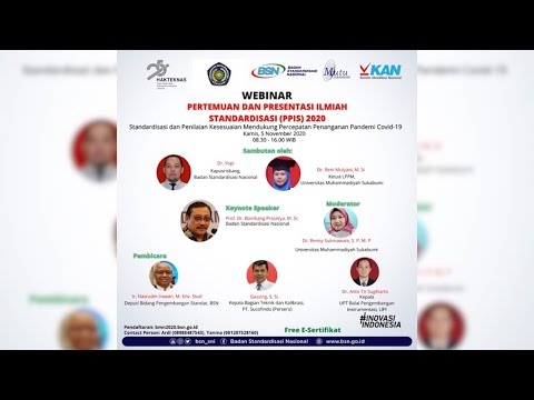 https://www.youtube.com/watch?v=D0g78xecI58Pertemuan dan Presentasi Ilmiah Standardisasi (PPIS)