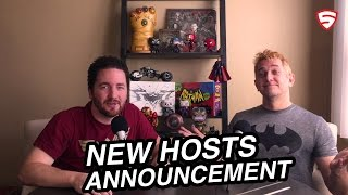 Meet your new Superhero News hosts: Sean Gerber & Mark Hughes