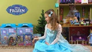 Princess Anna and Elsa Show and Tell and Dress up at School Story with New Princesses and Friends