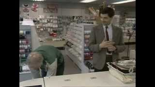 /mr bean shopping