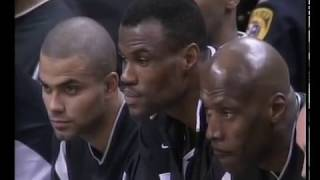 2003 NBA finals game 6 New Jersey Nets-San Antonio Spurs(only 4th quarter)