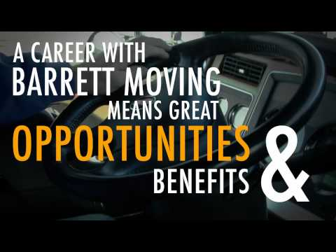 A Career With Barrett Moving