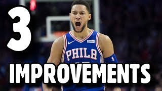 3 Improvements Ben Simmons NEEDS TO MAKE