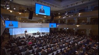 NATO Secretary General speech at Munich Security Conference, 16 FEB 2018, Part 1 of 2