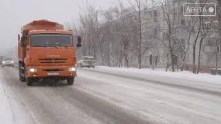 Новый снежный циклон накрыл Приморье